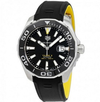 TAG Heuer Aquaracer Automatico Dial Negro WAY201A.FT6069 Replica Reloj