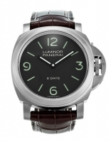 Panerai Luminor Base 8 Days Acciaio Mechanical Brown Marcar Hombres PAM00562 Replica Reloj