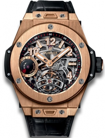 Hublot Big Bang Tourbillon Power Reserve 5 Days King Gold 45mm 405.OX.0138.LR Replica Reloj