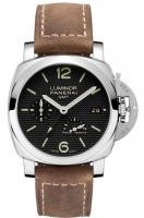 Panerai Luminor 1950 3 Days GMT Power Reserve Automatic acero PAM00537 Replica Reloj