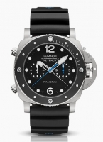 Panerai Luminor Submersible 1950 Chrono Flyback Titanio PAM00615 SIHH 2015 Replica Reloj