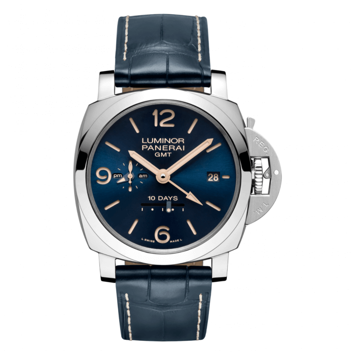 Panerai Luminor 1950 10 Days GMT Automatic Acero PAM00689 Replica Reloj