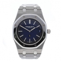 Audemars Piguet Royal Oak Extra-Thin Titanium Platinum Azul 15202IP.OO.1240IP.01 Replica Reloj