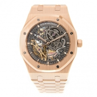 Audemars Piguet Royal Oak Double Balance Wheel Openworked 15407OR.OO.1220OR.01 Replica Reloj